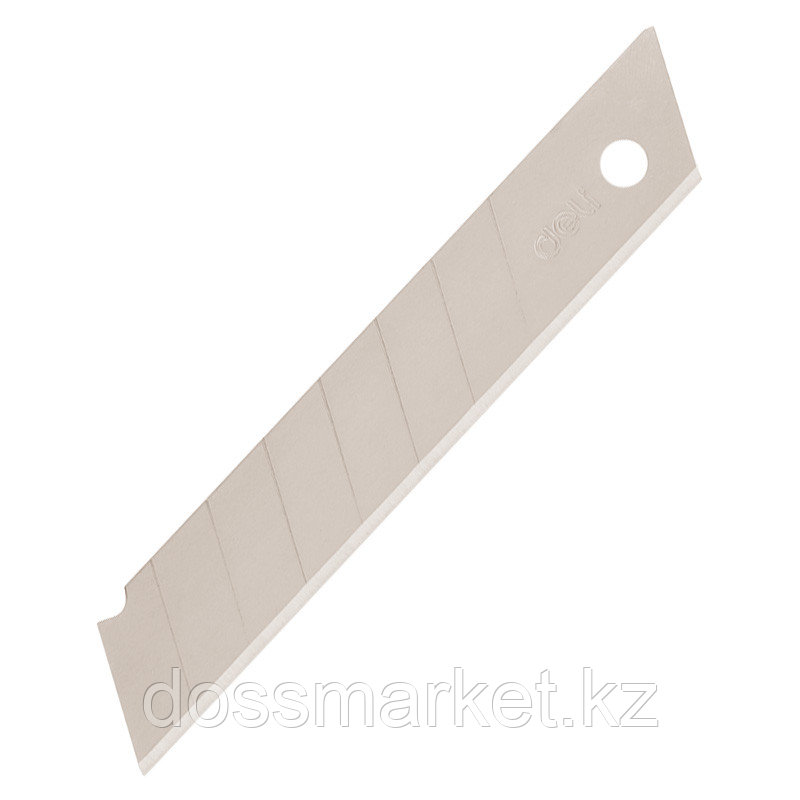 Лезвия для канцелярского ножа (18мм.), 10шт, DELI