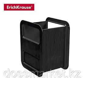 Стакан для пишущих  принадл. пластик, черный, ERICH KRAUSE