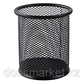 Подставка металлическая для ручек, диаметр 91, высота 98, DELI