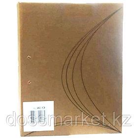 Папка архивная на завязках, 70мм, крафт, 325*250*70, KRIS