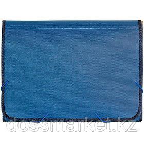 Папка на резинках, А4, 13 деления, синий. SPONSOR
