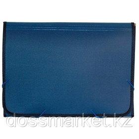 Папка портфель на резинках, 13 деления, ассорти. SPONSOR