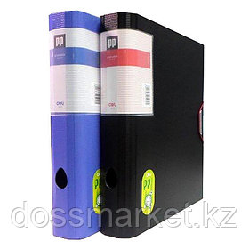Папка на резинке, А4, 6см, 2.3мм, +5 разделителей, DELI