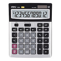 Калькулятор бухгалтерский, 12 р., 190*149мм, метал. панель, DELI