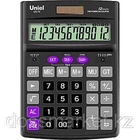 Калькулятор бухгалтерский ,12 р., 190*137*44 мм, UNIEL