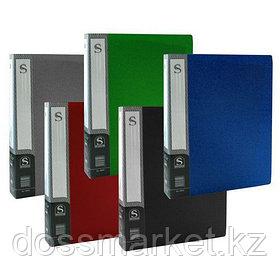 Папка с 60 файлами, ассорти, А4, пластик.