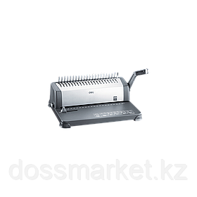 Переплетная машина для пластиковой пружины, перфорирует до 15 л., DELI