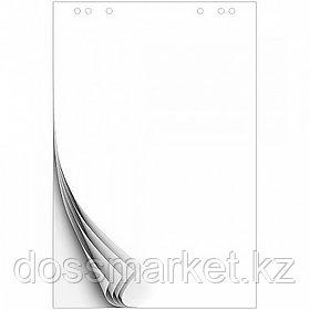 Блок бумаги для флипчартов, 20л., 80гр.,600х900 мм., на скобе,  KUVERT