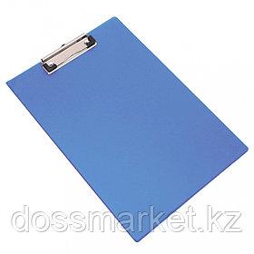 Планшет, А4, ПВХ, ассорти(синий,черный), 0,18мм, DELI