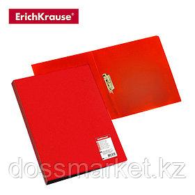 Папка с боковым зажимом STANDARD, А4, красный, ERICH KRAUSE