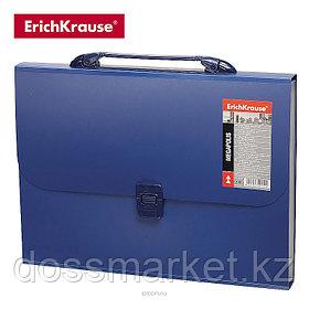 Портфель, А4, 12 отделений, MEGAPOLIS, синий, ERICH KRAUSE