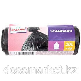 Мешки для мусора Paclan Standart 20л.; 30шт/уп