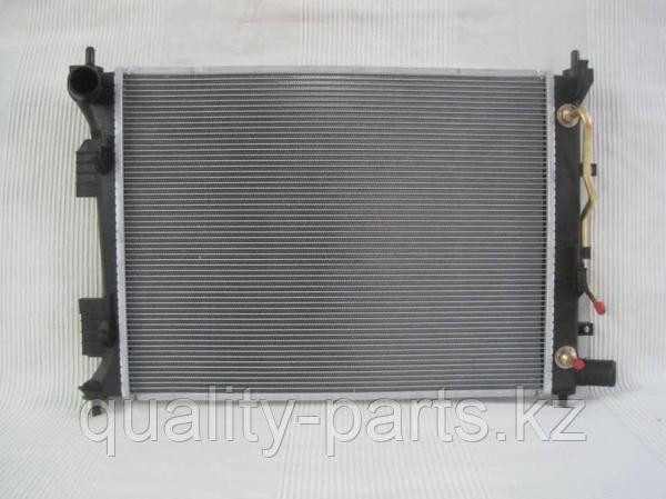 Радиатор масленый для экскаватора Hyundai R305LC-7.