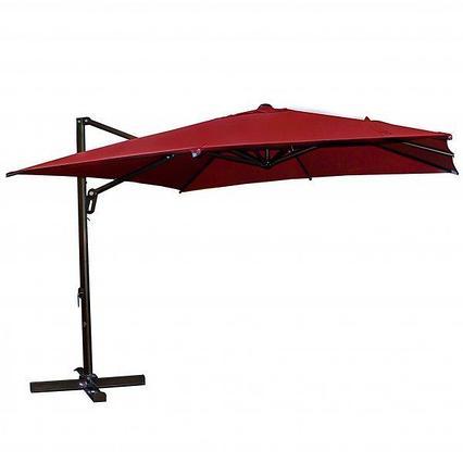 Сборка зонтов с боковой стойкой