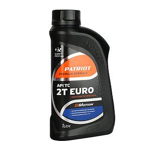 Масло 2-х тактное полусинтетическое Patriot G-Motion EURO
