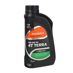 Масло 4-х тактное минеральное Patriot G-Motion HD TERRA SAE 30