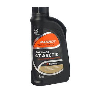 Масло 4-х тактное полусинтетическое Patriot G-Motion ARCTIC 5W30