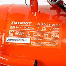 Компрессор поршневой масляный Patriot EURO 24-240K, фото 3