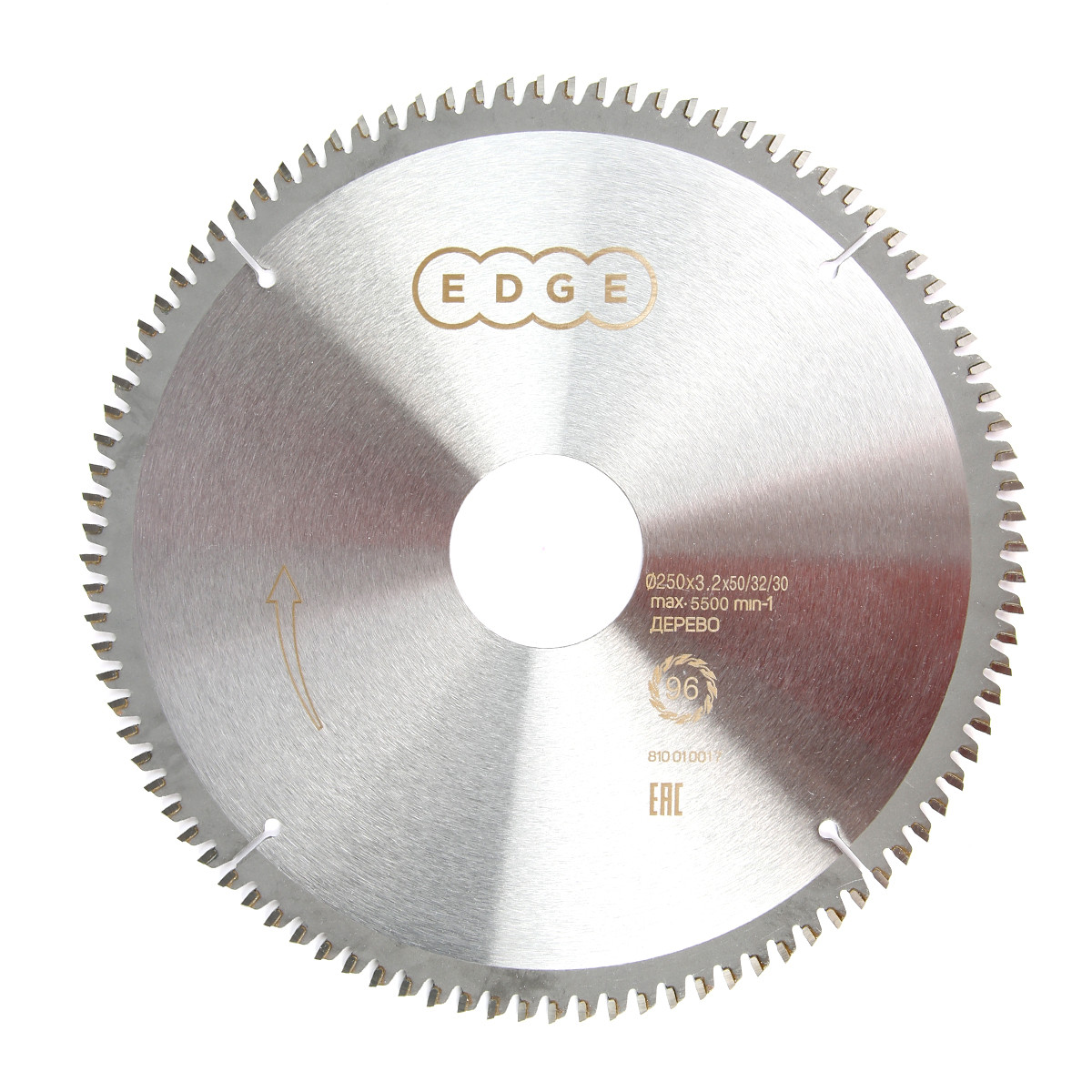 Диск EDGE by PATRIOT пильный по алюминию 250х96х50/32/30