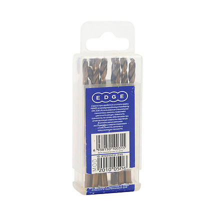 Сверло EDGE by PATRIOT по металлу 5,0 мм, упаковка 10шт, фото 2