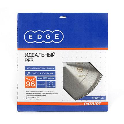 Диск EDGE by PATRIOT пильный по алюминию 305x96x30/25,4 negative, фото 2