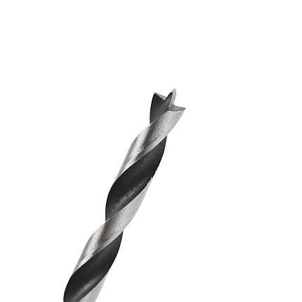 Сверло EDGE by PATRIOT по дереву спиральное 8 мм, W-образная заточка, 1 шт в блистере, фото 2