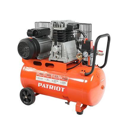 Компрессор поршневой ременной Patriot PTR 50-360I, фото 2