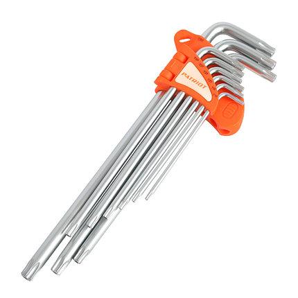 Набор ключей PATRIOT SKТ-9EL, TORX, экстра длинные,  T10-T50, CRV, 9 шт, фото 2