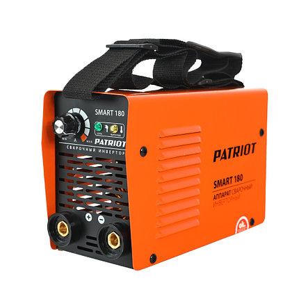 Аппарат сварочный инверторный Patriot Smart 180 MMA, фото 2