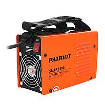 Аппарат сварочный инверторный Patriot Smart 180 MMA, фото 3