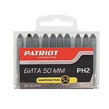 Бита Patriot PH2, сталь S2, длина 50 мм в пластиковом боксе, фото 2