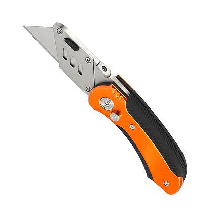 Нож строительный Patriot CKF-5 с трапециевидным лезвием, фото 2