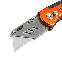 Нож строительный Patriot CKF-5 с трапециевидным лезвием, фото 3