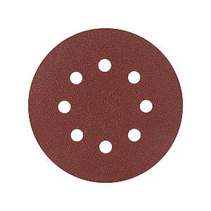 Круг шлифовальный PATRIOT на липучке, 125мм, Р80, 5 шт