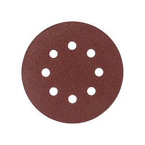 Круг шлифовальный PATRIOT на липучке, 125мм, Р60, 5 шт