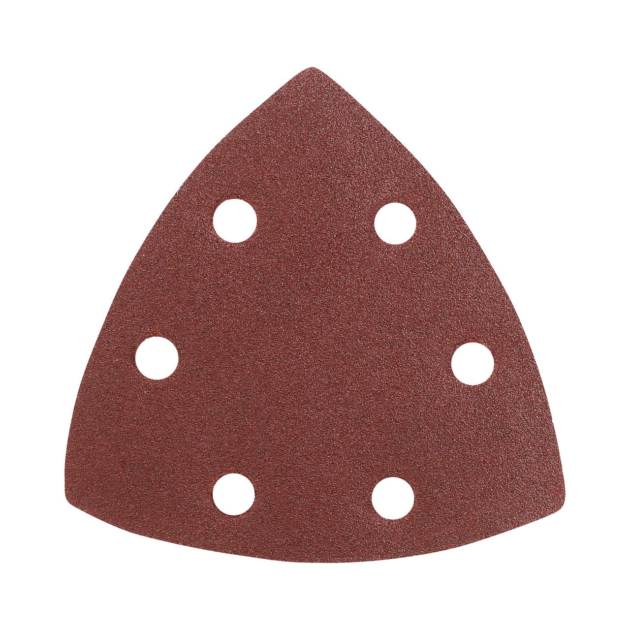 Треугольник шлифовальный PATRIOT на липучке, 80х80х80мм, Р120, 5 шт