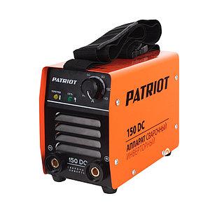 Аппарат сварочный инверторный Patriot 150DC MMA