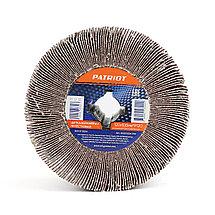 Щетка PATRIOT абразивная лепестковая для брашировальных машин, 120х100мм*Р120, фото 2