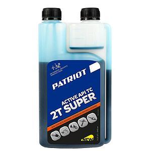Масло 2-х тактное полусинтетическое Patriot SUPER ACTIVE 0,946 л