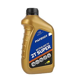 Масло 2-х тактное полусинтетическое Patriot SUPER ACTIVE