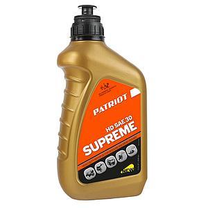 Масло 4-х тактное минеральное Patriot SUPREME HD SAE 30