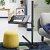 Прикроватный стол с кулером,  фиксаторами для книг и регулировкой по высоте, фото 2