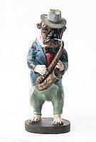 """Статуэтка"""" Собака музыкант"""" 40 см"""