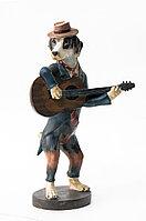 """Статуэтка"""" Собака музыкант"""" 44 см"""