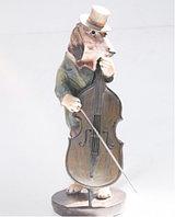"""Статуэтка"""" Собака музыкант"""" 35 см"""