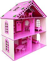 Кукольный дом 2 этажа 93*82*42 см.