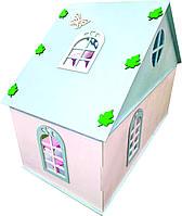 Кукольный дом 1 этаж 82*62*42 см