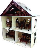 Кукольный дом для ЛОЛ 2 этажа 49*43*22 см.