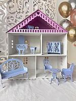 Кукольный дом 2 этажа 63*55*28