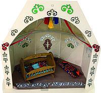 Кукольный дом ЮРТА 60*51*44